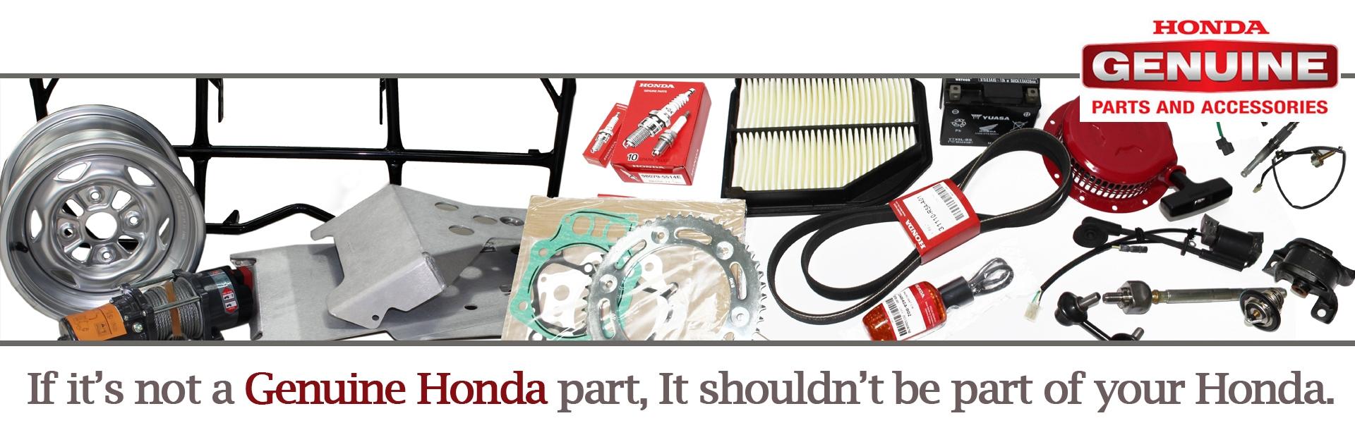 Genuine Honda Parts and Accessories